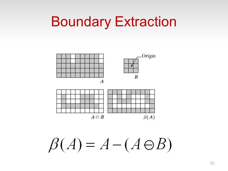Boundary Extraction