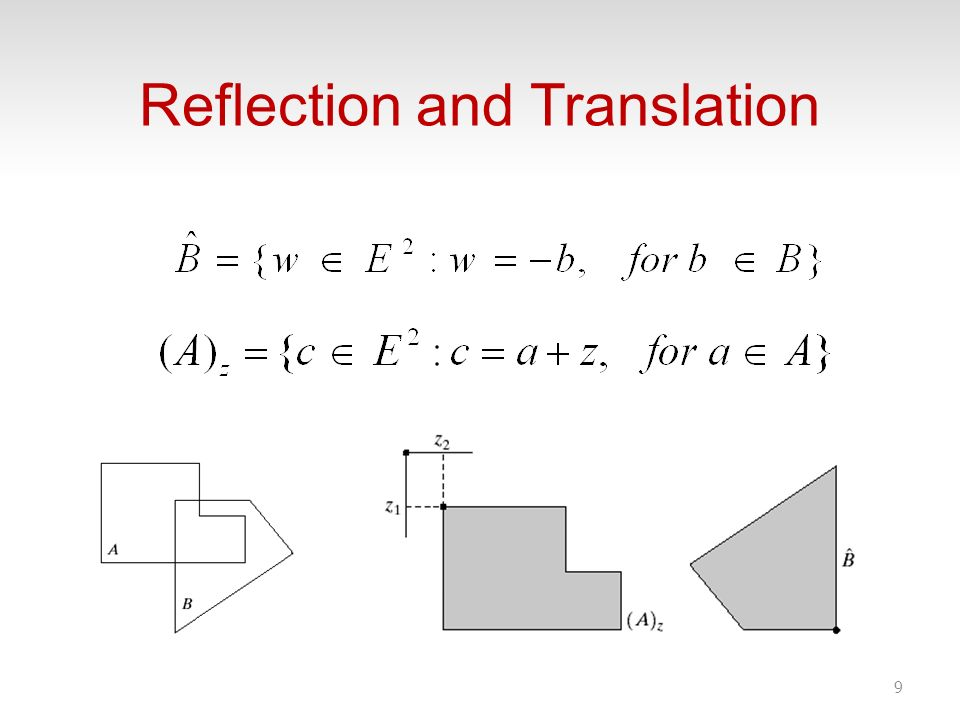 Reflection and Translation