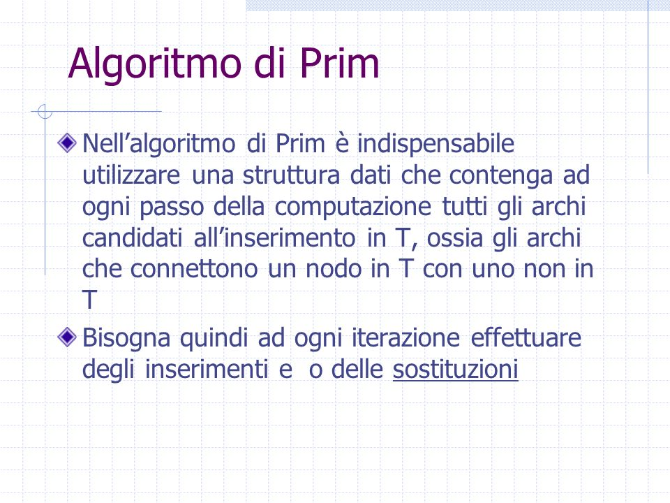 Algoritmo di Prim