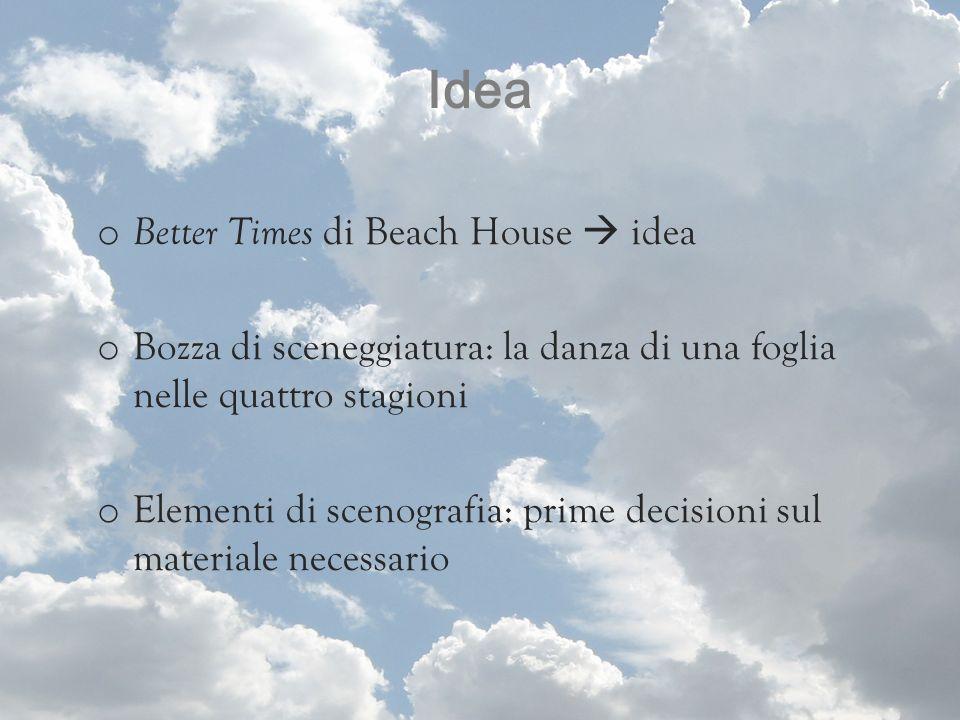 Idea Better Times di Beach House  idea