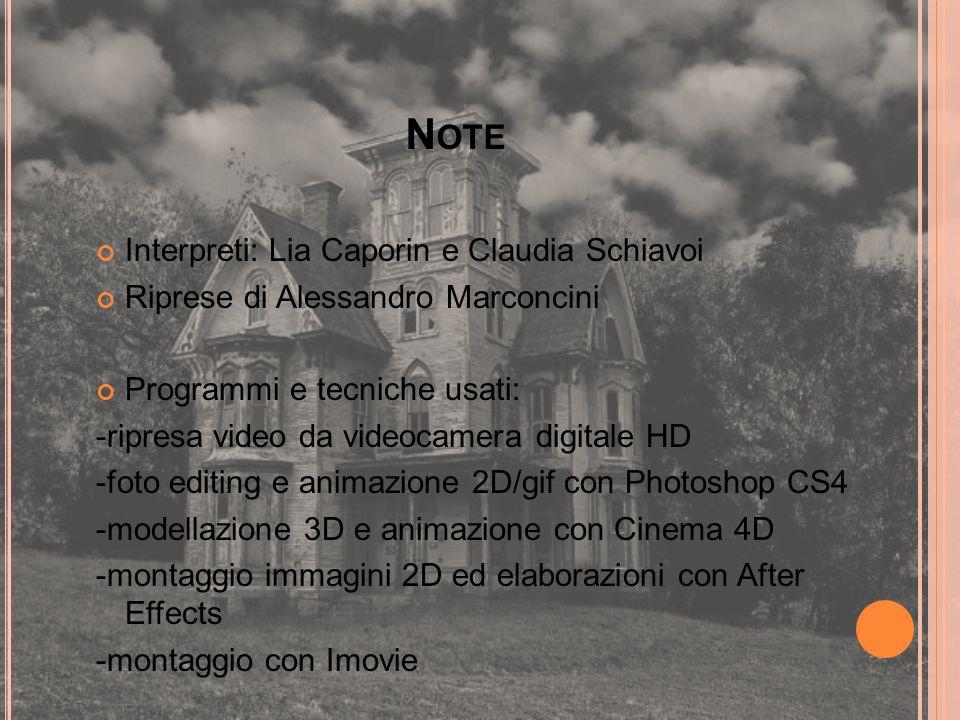 Interpreti: Lia Caporin e Claudia Schiavoi