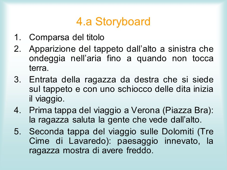 4.a Storyboard Comparsa del titolo
