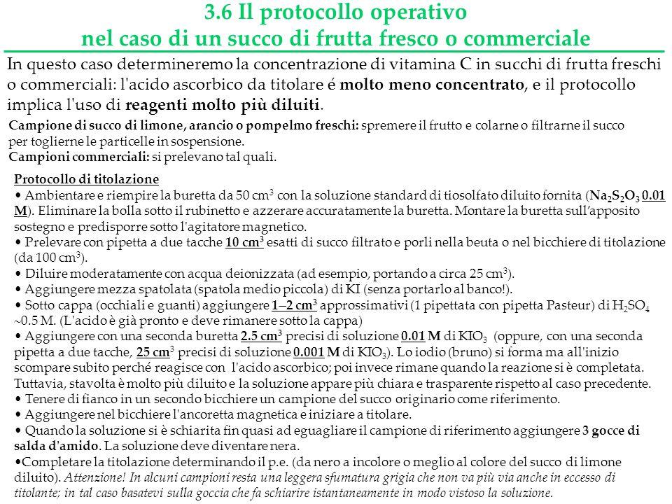 3.6 Il protocollo operativo