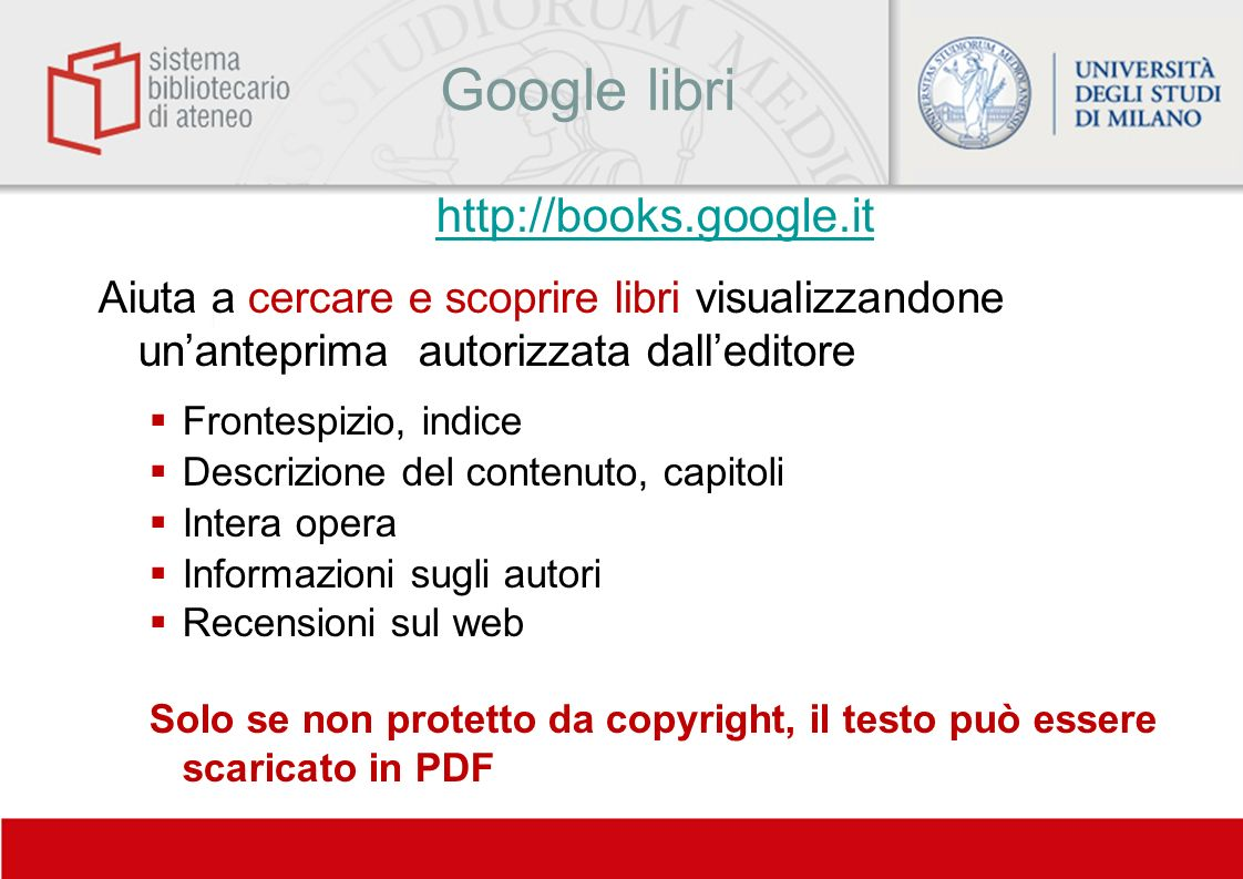Google libri http://books.google.it