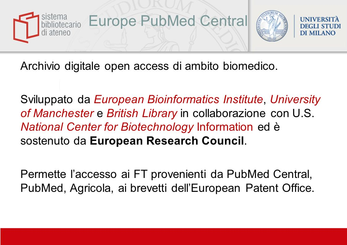 Europe PubMed Central