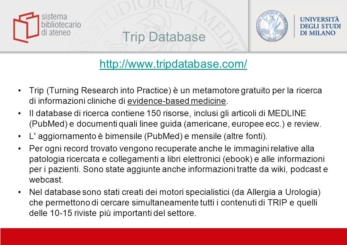 Trip Database http://www.tripdatabase.com/