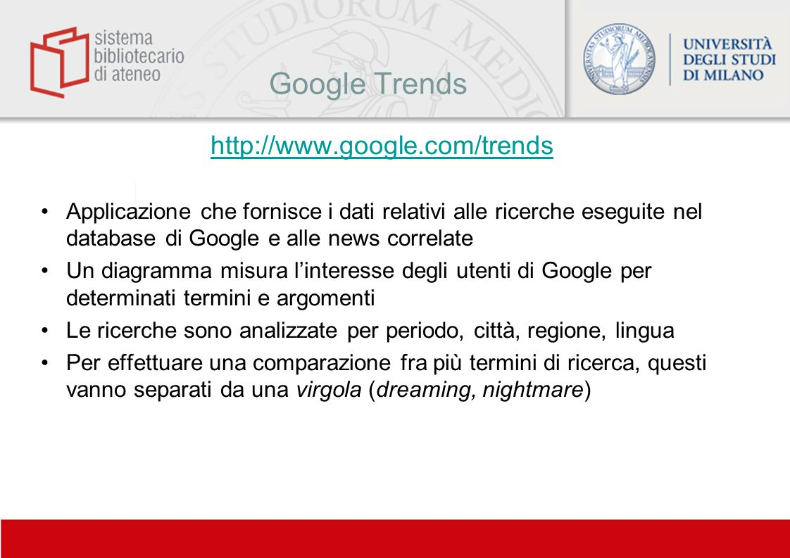 Google Trends http://www.google.com/trends