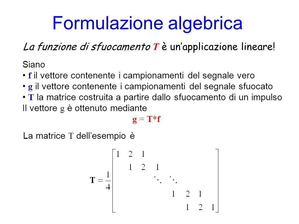 Formulazione algebrica