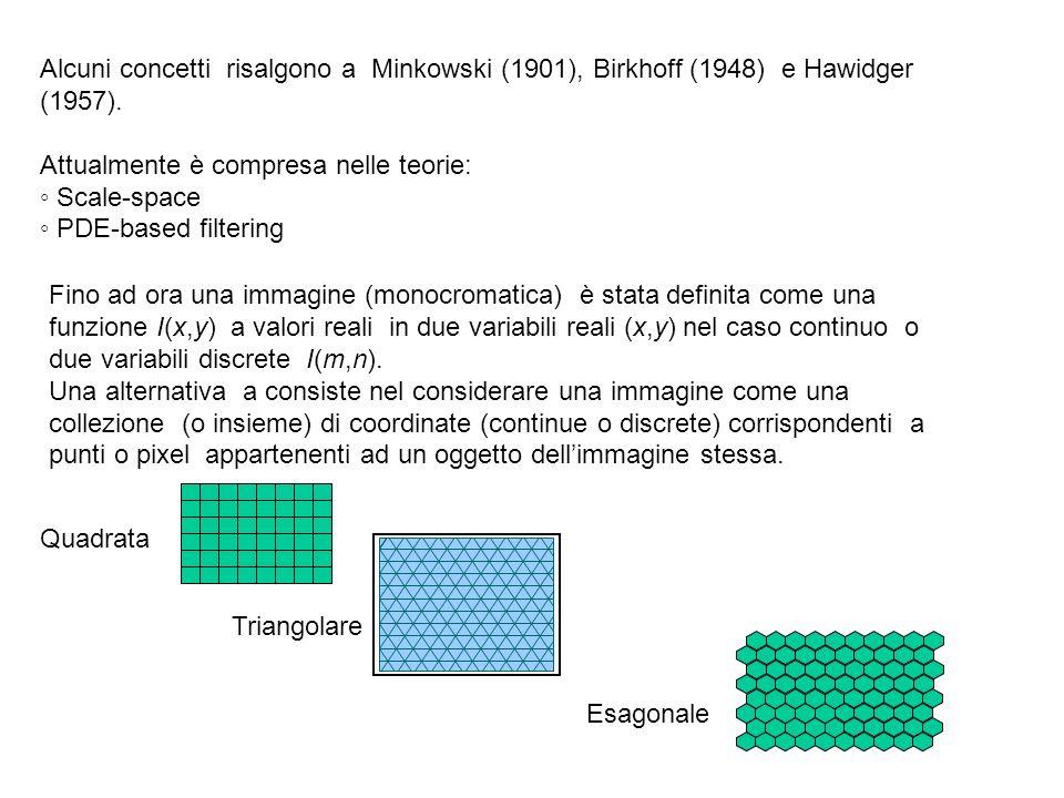 Alcuni concetti risalgono a Minkowski (1901), Birkhoff (1948) e Hawidger (1957).