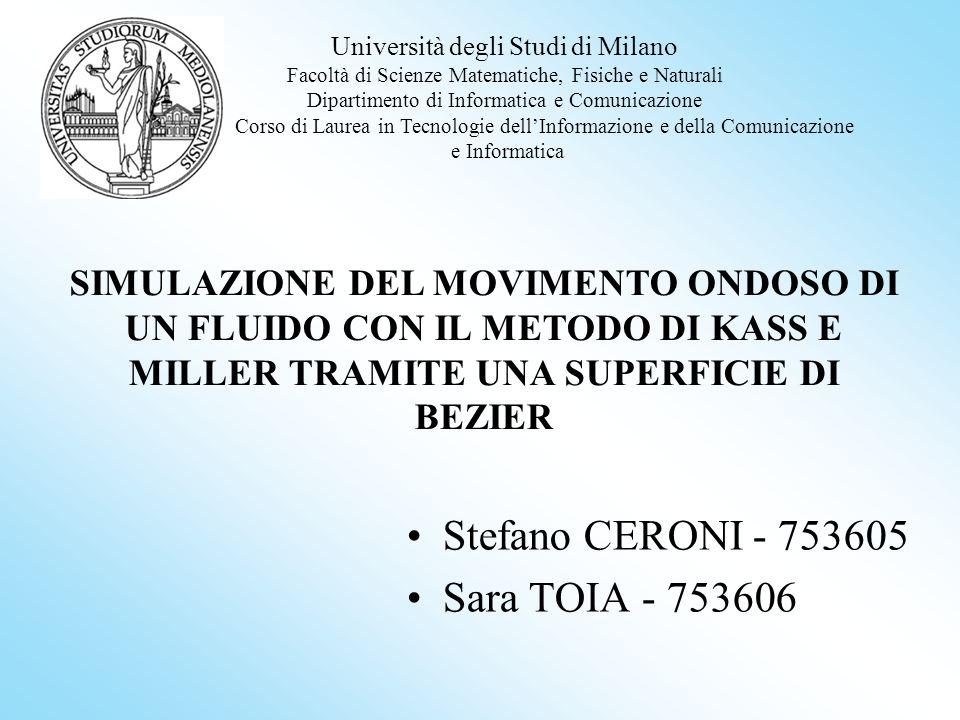 Stefano CERONI - 753605 Sara TOIA - 753606