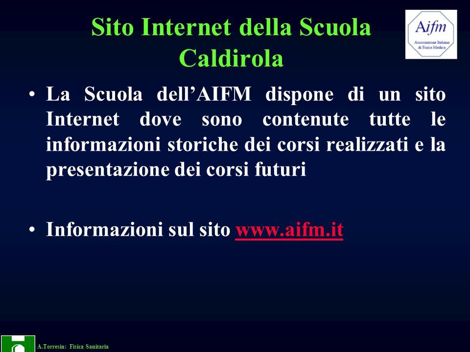 Sito Internet della Scuola Caldirola
