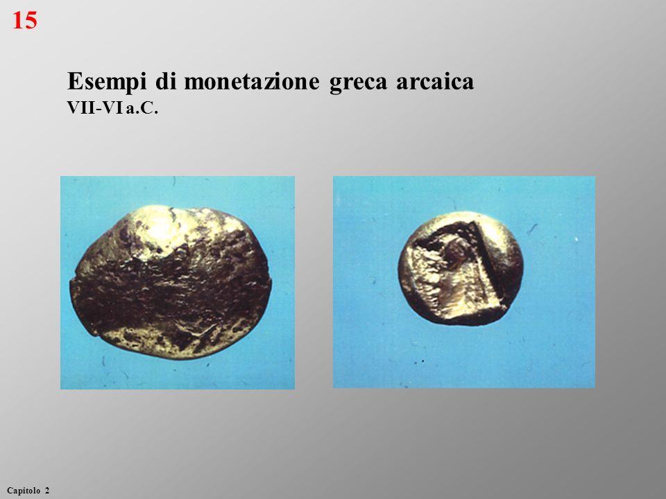 Esempi di monetazione greca arcaica