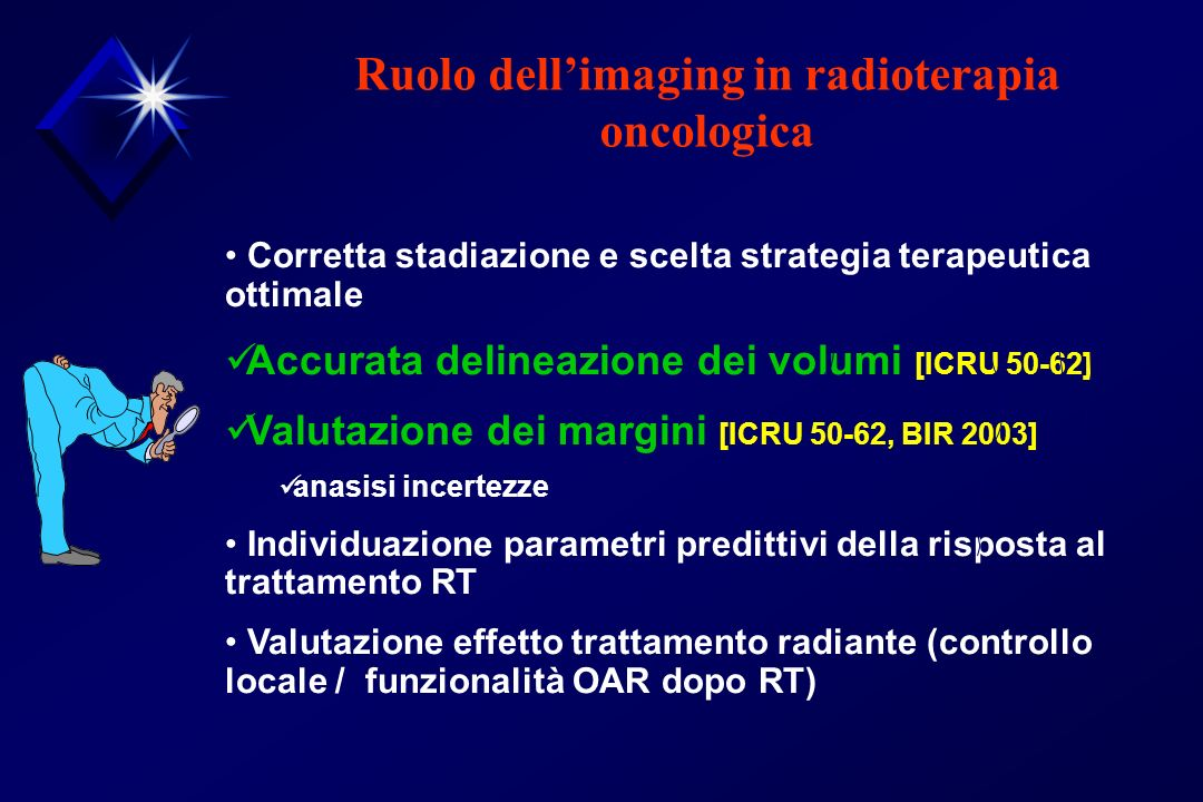 Ruolo dell'imaging in radioterapia oncologica