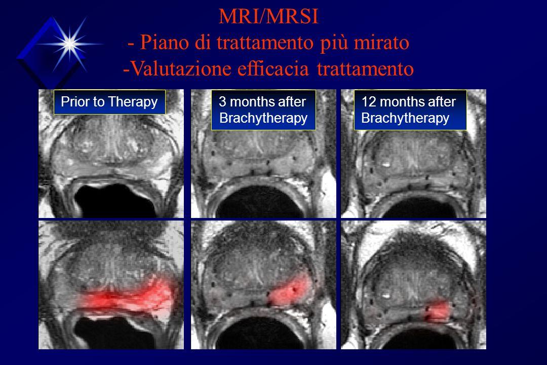 - Piano di trattamento più mirato -Valutazione efficacia trattamento