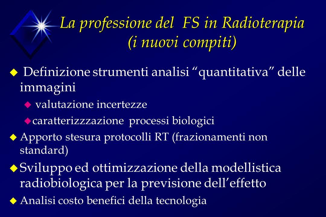 La professione del FS in Radioterapia (i nuovi compiti)