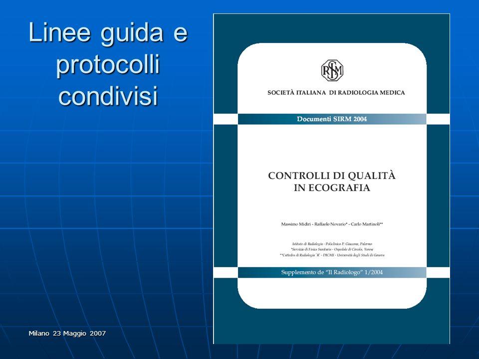 Linee guida e protocolli condivisi