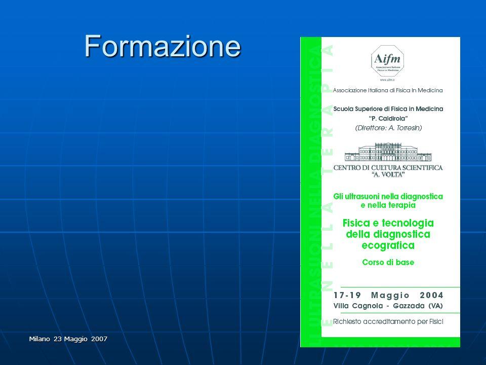 Formazione Milano 23 Maggio 2007