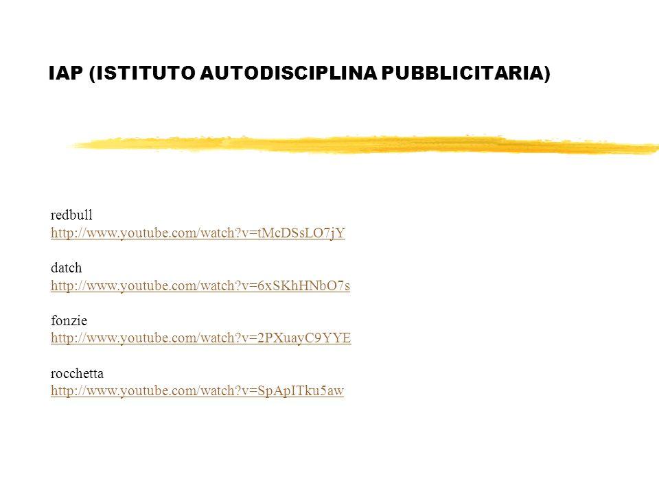 IAP (ISTITUTO AUTODISCIPLINA PUBBLICITARIA)