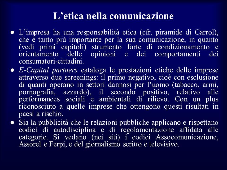 L'etica nella comunicazione