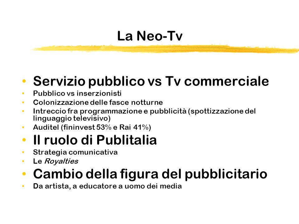 Servizio pubblico vs Tv commerciale