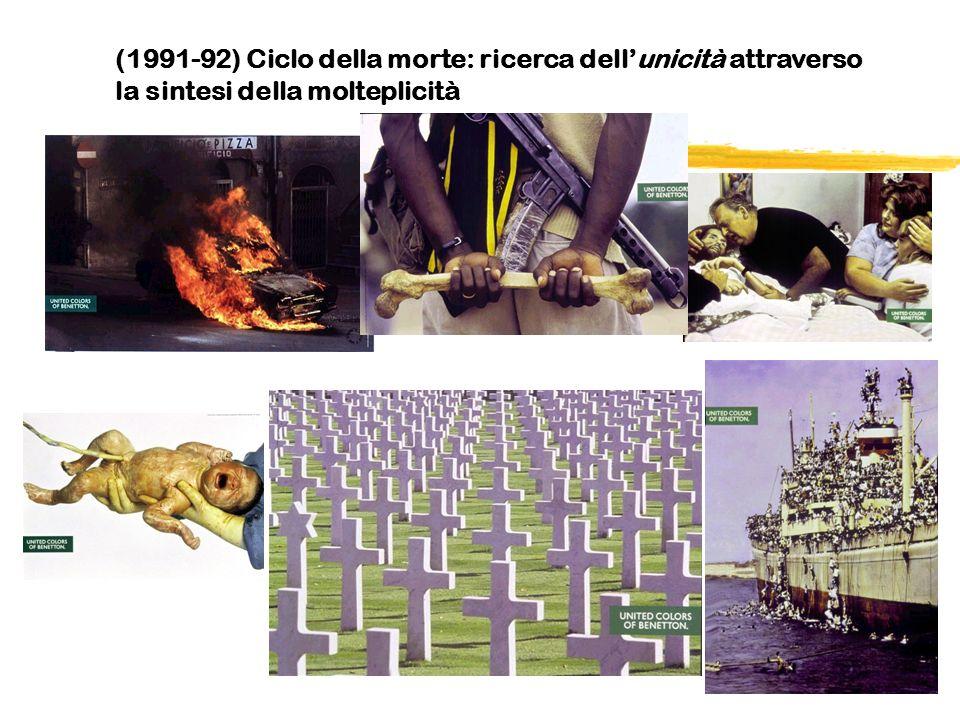(1991-92) Ciclo della morte: ricerca dell'unicità attraverso la sintesi della molteplicità