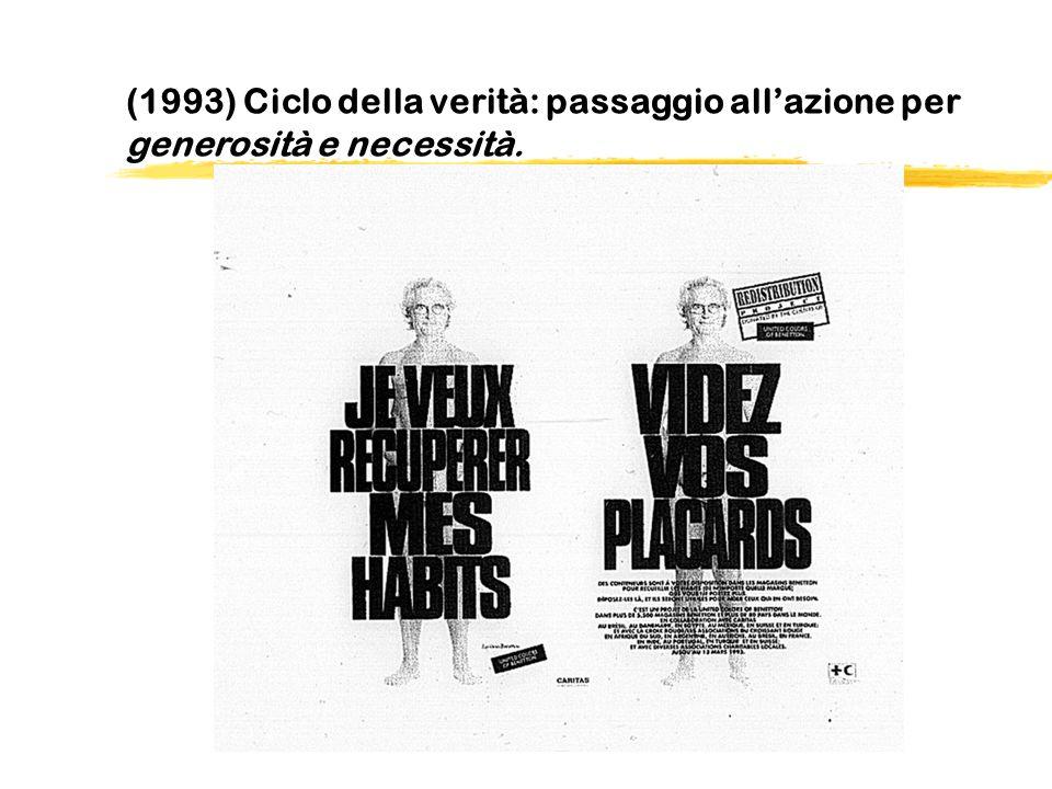 (1993) Ciclo della verità: passaggio all'azione per generosità e necessità.