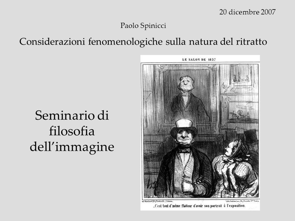 Seminario di filosofia dell'immagine