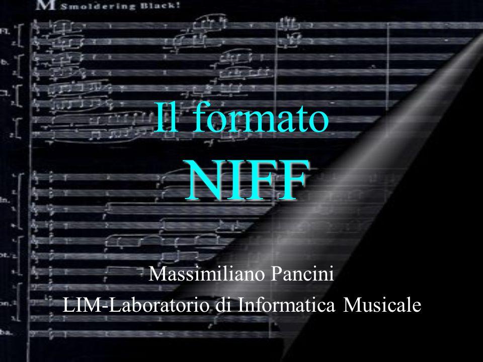 Massimiliano Pancini LIM-Laboratorio di Informatica Musicale