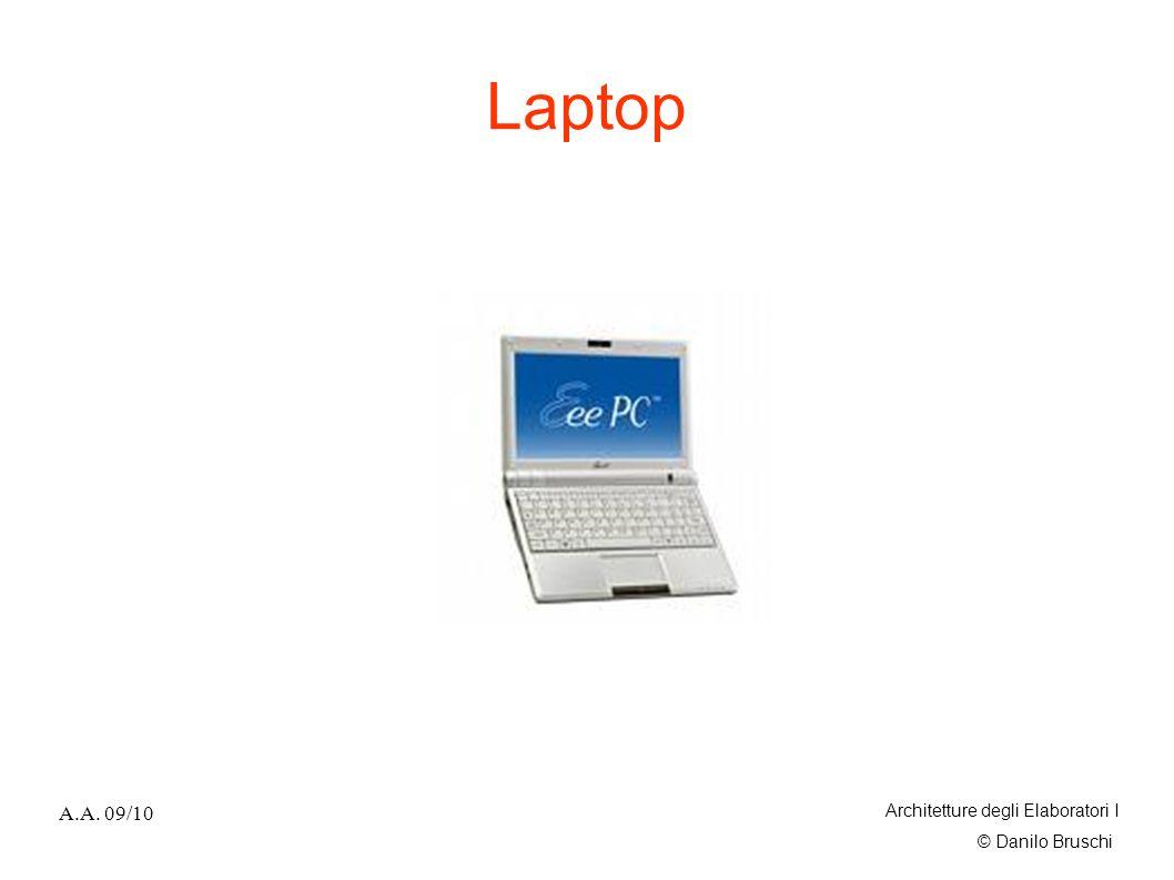 Laptop A.A. 09/10 Architetture degli Elaboratori I