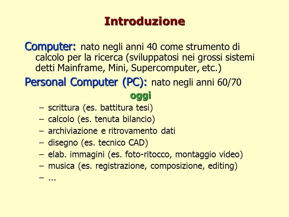 Personal Computer (PC): nato negli anni 60/70