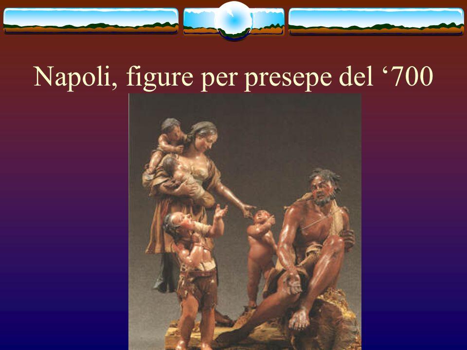 Napoli, figure per presepe del '700