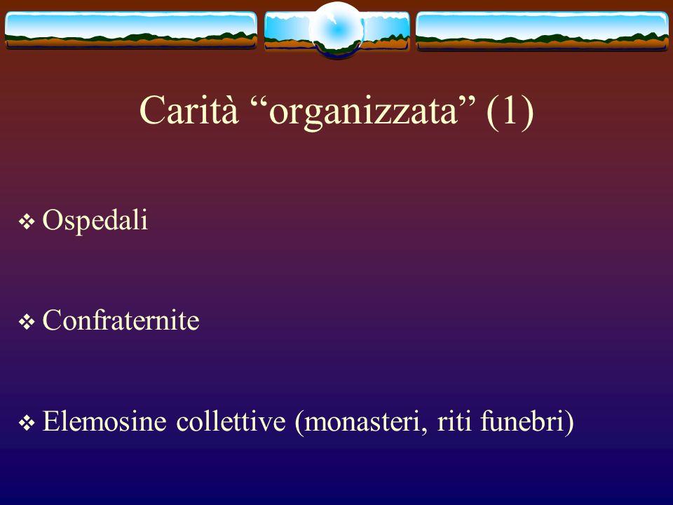 Carità organizzata (1)