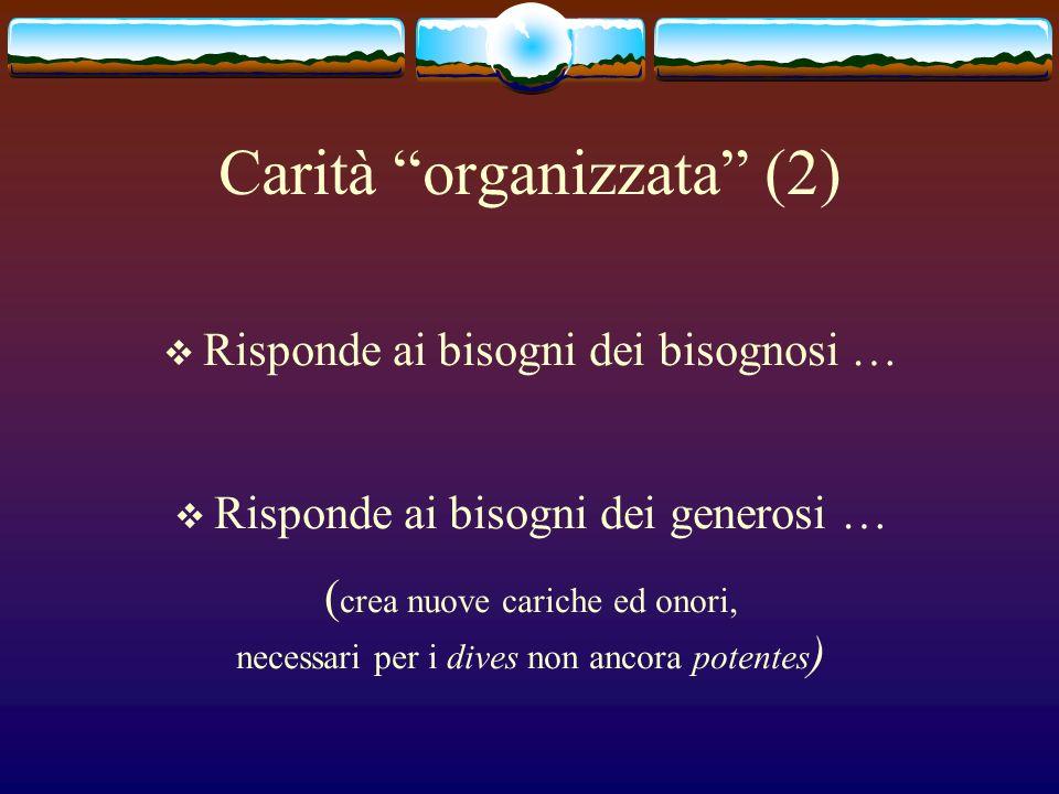 Carità organizzata (2)
