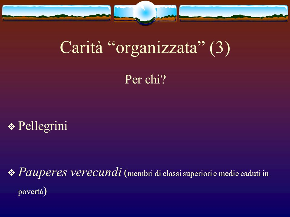 Carità organizzata (3)