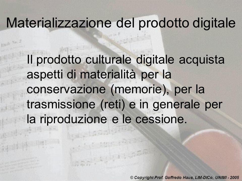 Materializzazione del prodotto digitale