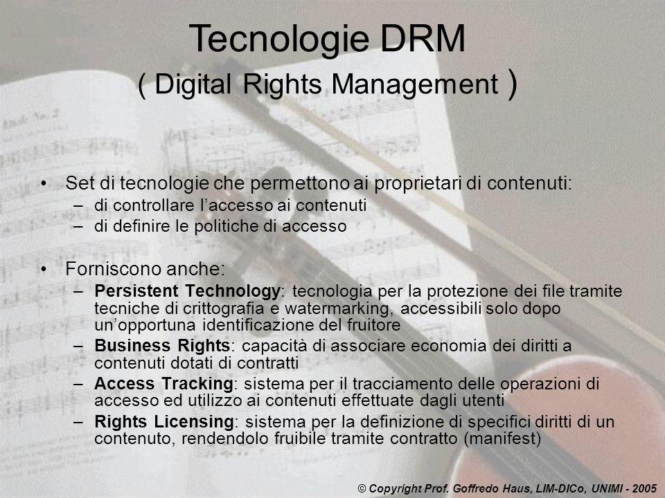 ( Digital Rights Management )
