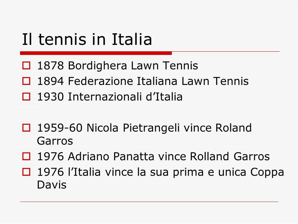 Il tennis in Italia 1878 Bordighera Lawn Tennis