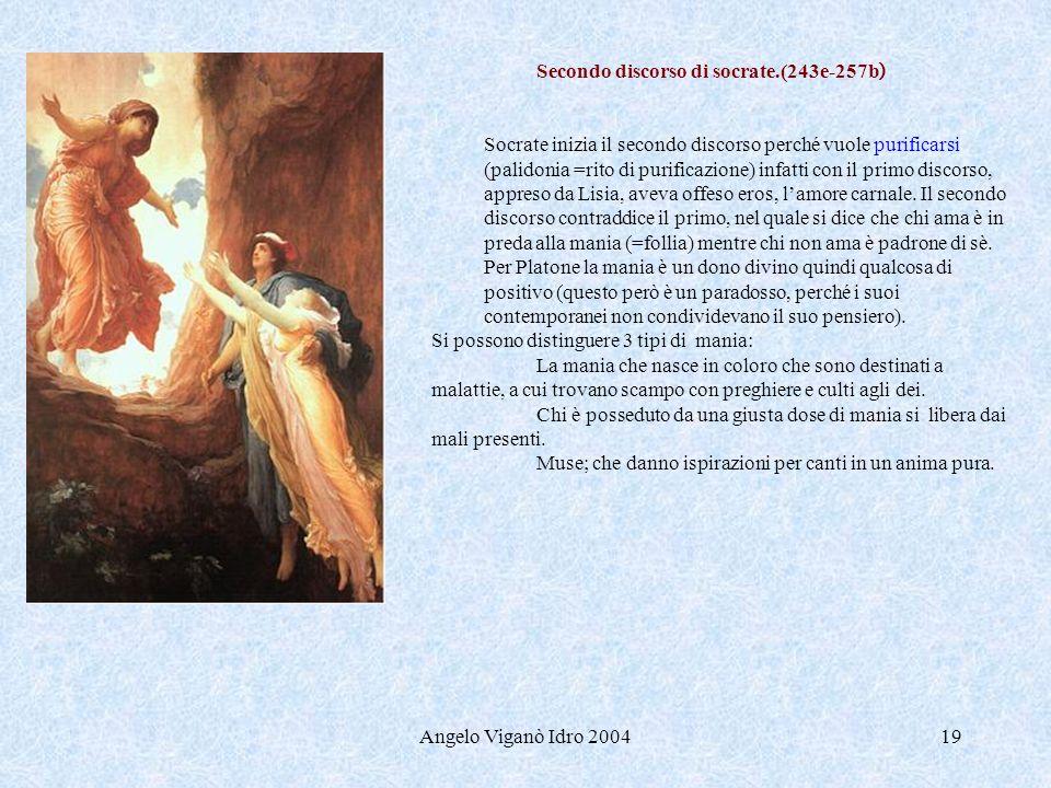 Secondo discorso di socrate.(243e-257b)