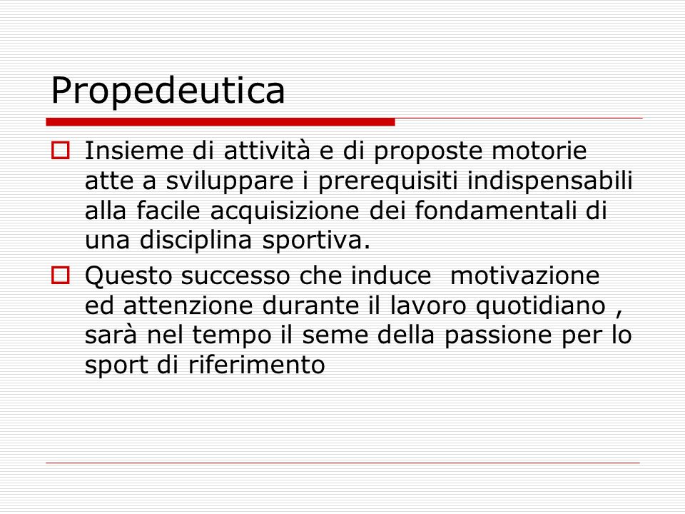 Propedeutica