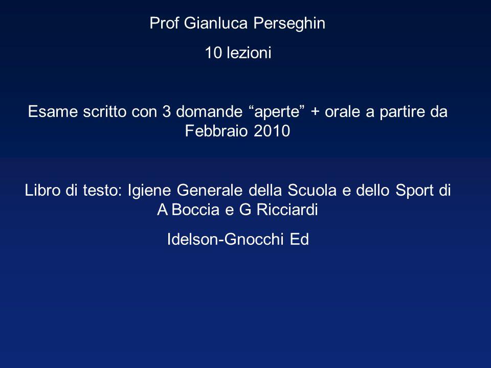 Prof Gianluca Perseghin