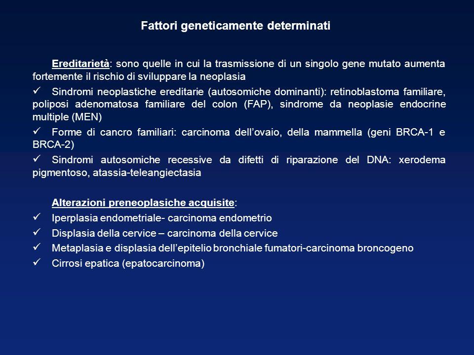 Fattori geneticamente determinati