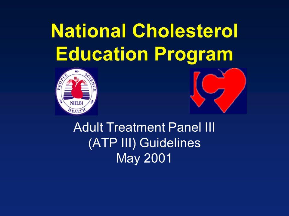 Adult Treatment Panel III (ATP III) Guidelines May 2001