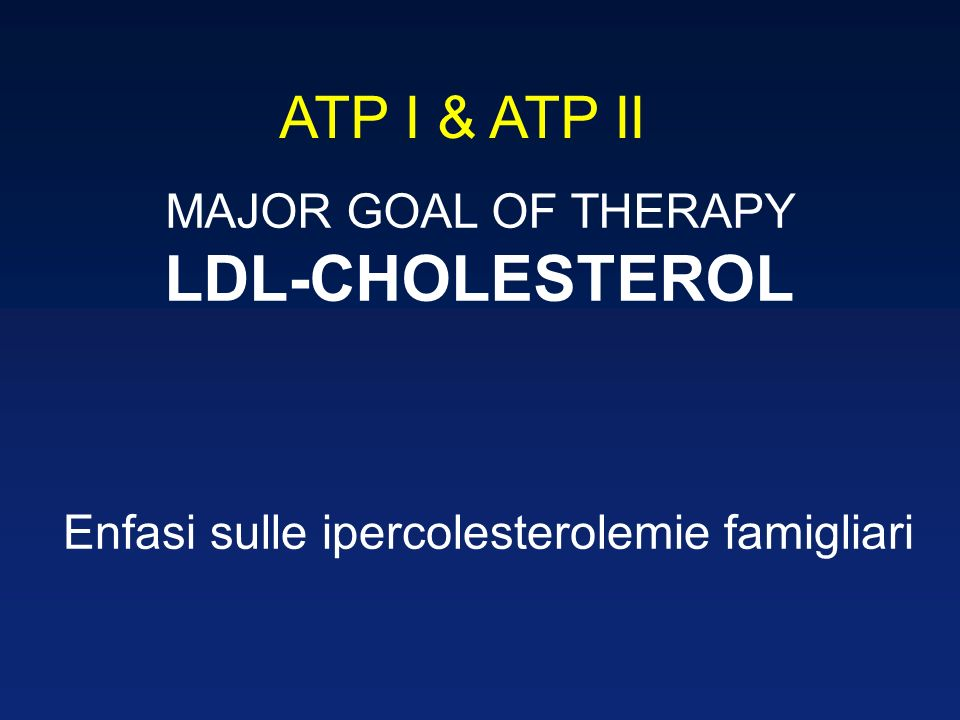 Enfasi sulle ipercolesterolemie famigliari