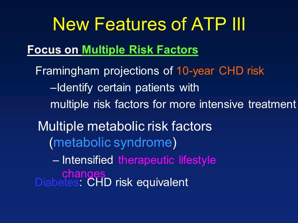 Focus on Multiple Risk Factors