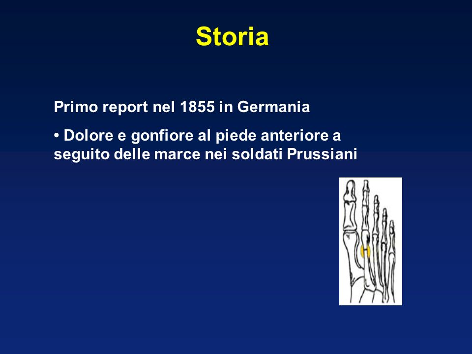 Storia Primo report nel 1855 in Germania