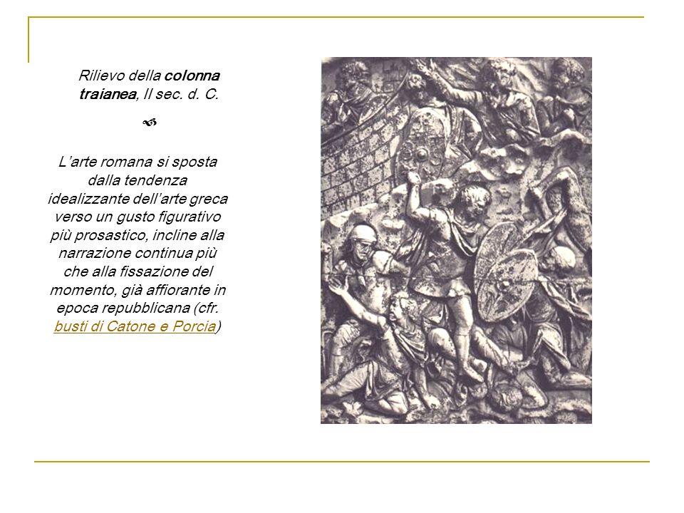 Rilievo della colonna traianea, II sec. d. C.