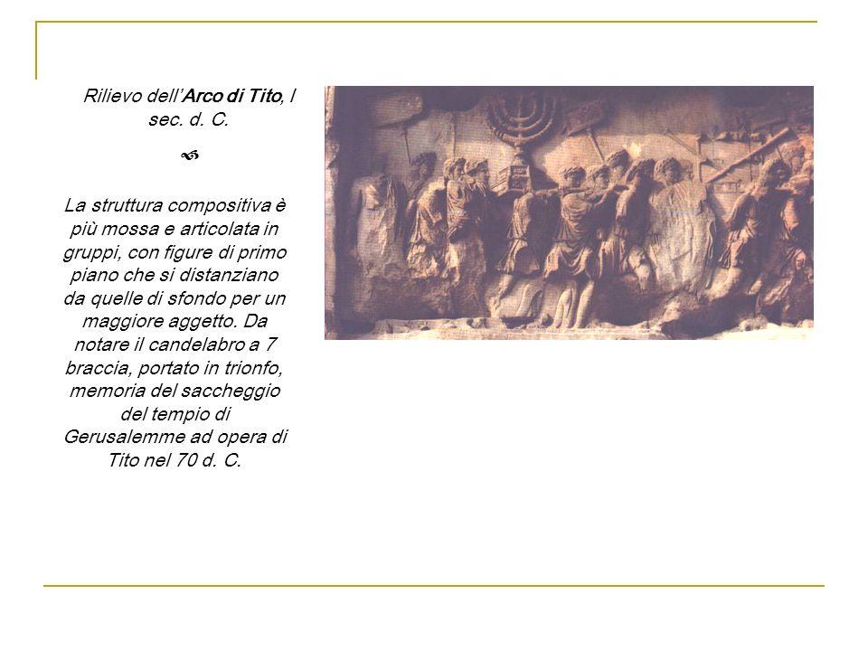 Rilievo dell'Arco di Tito, I sec. d. C.