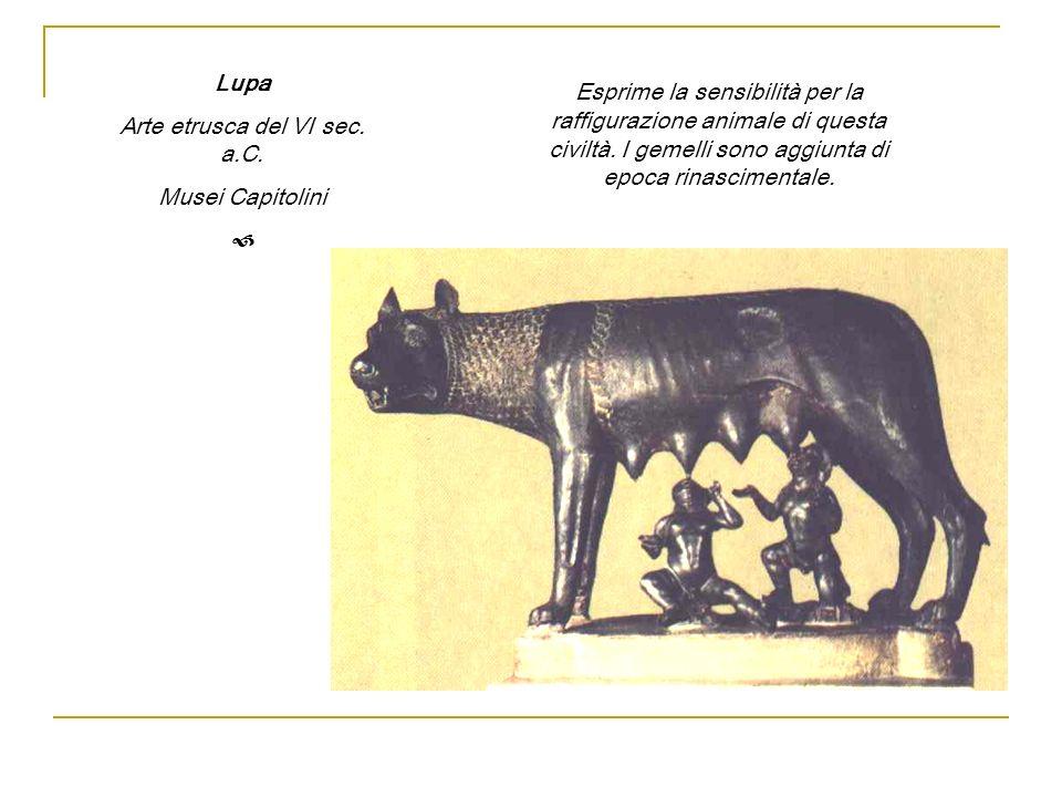 Arte etrusca del VI sec. a.C.