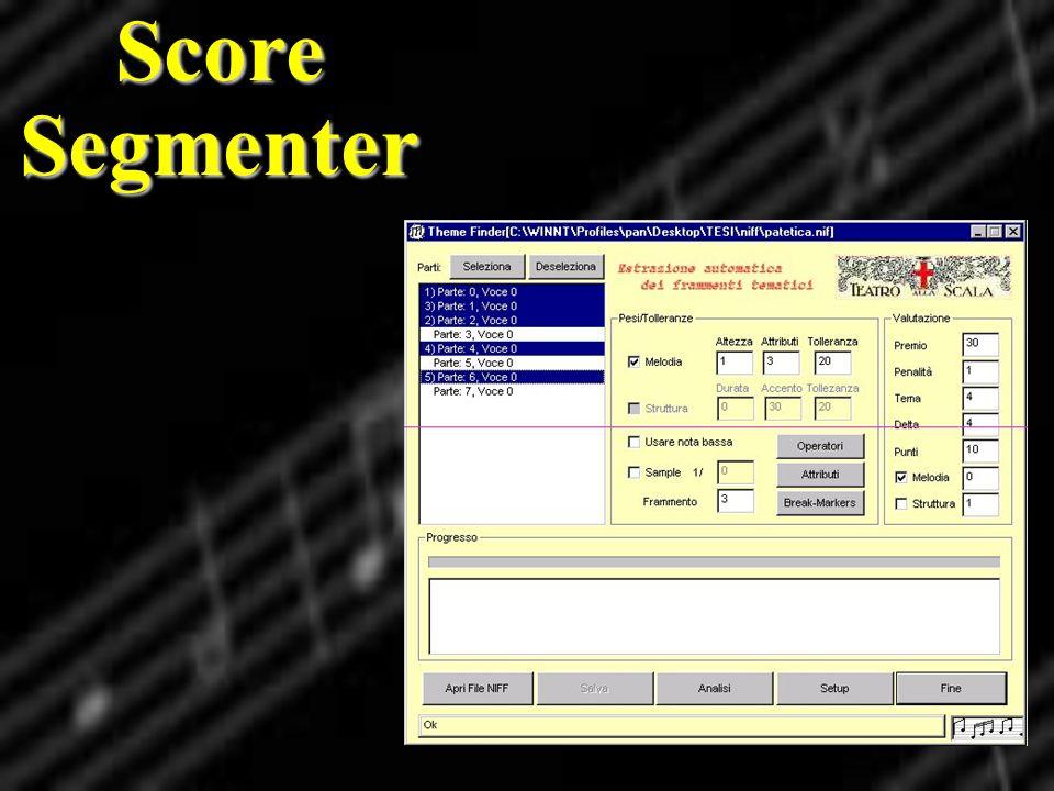 Score Segmenter