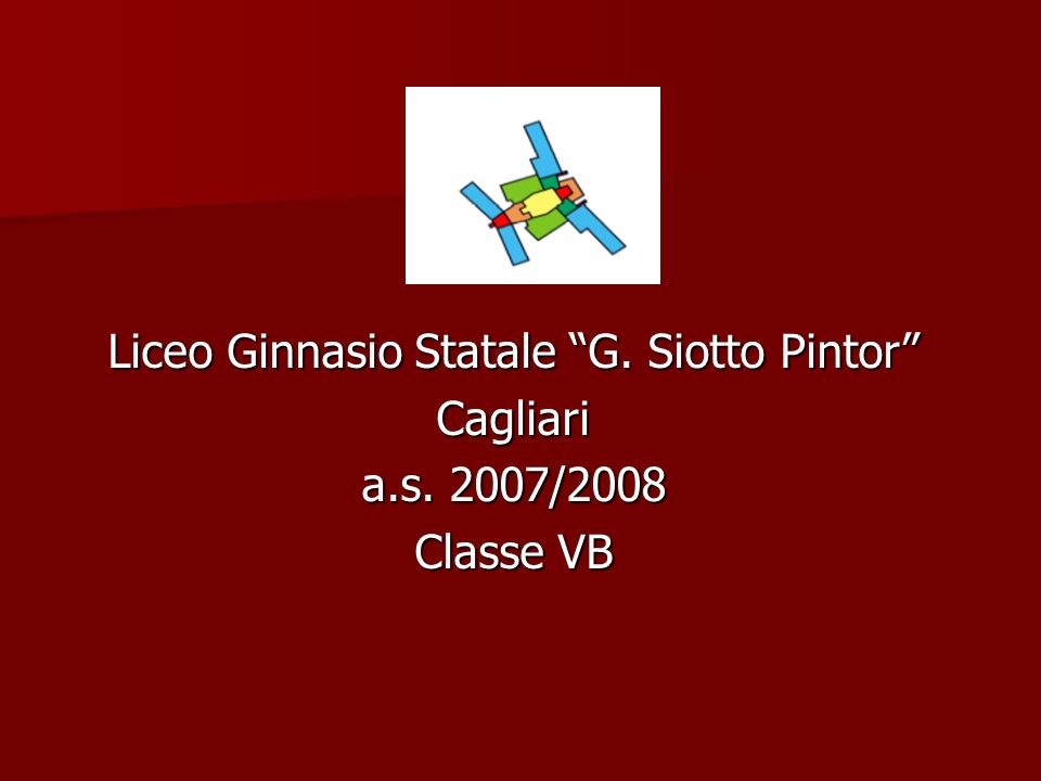 Liceo Ginnasio Statale G. Siotto Pintor